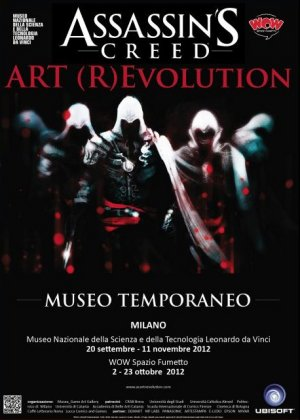 ASSASSIN'S CREED Art (R)Evolution - Museo Temporaneo