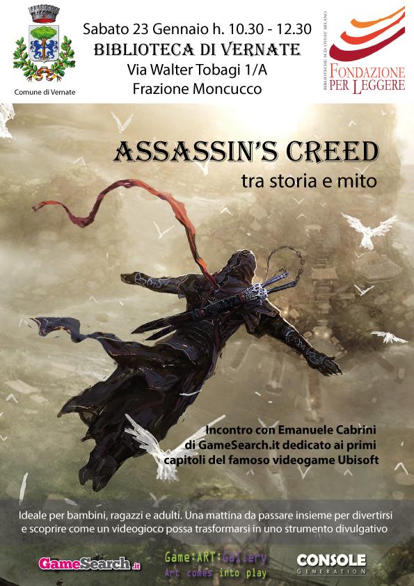 Mostra ASSASSIN'S CREED tra storia e mito: Biblioteca di Vernate, Vernate