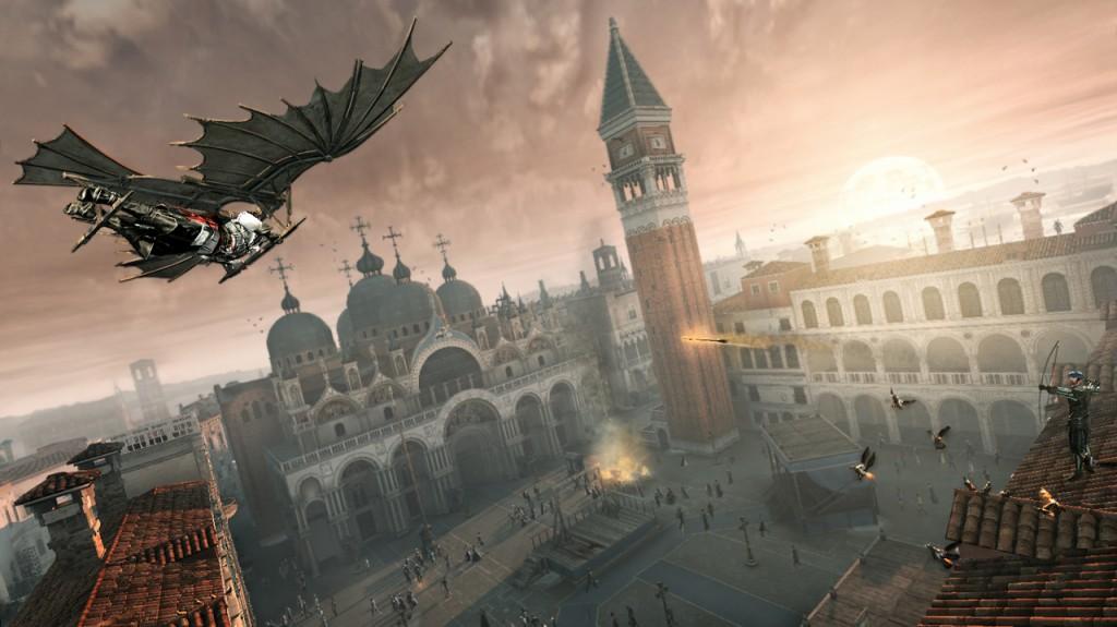Volando con Leonardo su Venezia